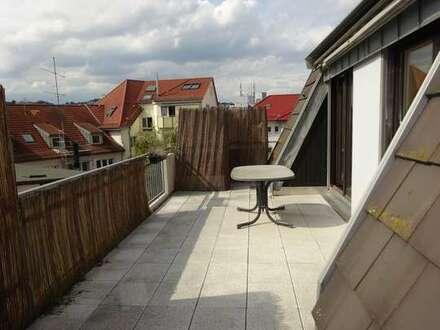 Gemütliche Stadtwohnung mit herrlicher Dachterrasse