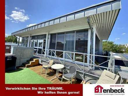 +++Penthouse-Wohnung mit Dachterrasse im Zentrum von Bocholt!!!+++