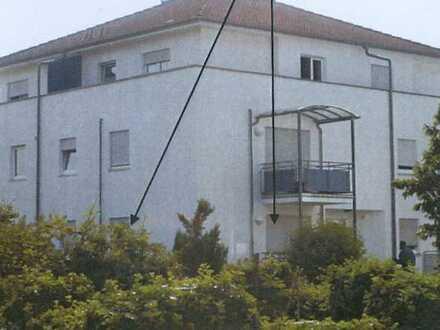 Gepflegte 1-Zimmer-Wohnung mit Balkon und Einbauküche Illertissen