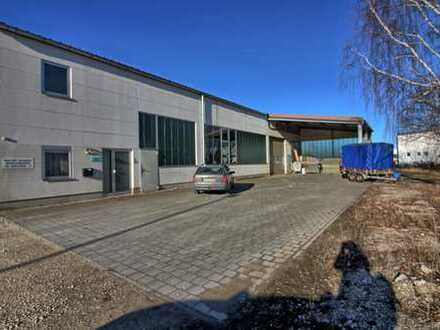 Gewerbehalle in Asch - teilweise anmietbar (von 200 m² bis 350 m²)