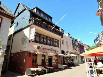 Gepflegtes Hotel-Restaurant mit Ferienwohnungen in St. Goar, Rhein