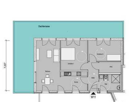 W11 Barrierearme 3-Zimmer Penthousewohnung