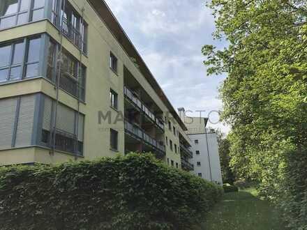 Eigentumswohnung mit Garten und TG in grüner Wohnanlage
