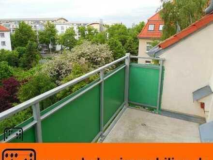 ** Dachgeschoss mit SONNIGEM West-Balkon **