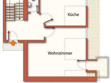 4-Raum-Maisonettewohnung in der Bautzener Altstadt