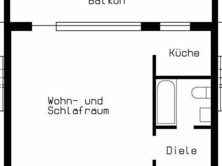 Schönes Appartement mit Balkon in Düsseldorf-Hamm