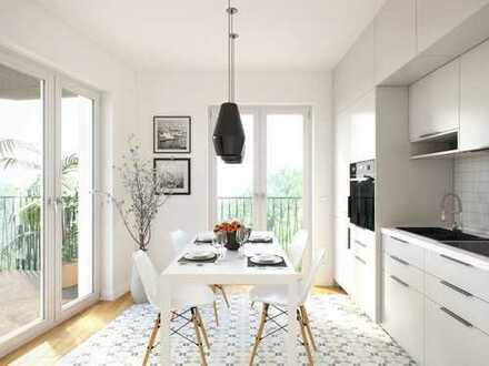 Sympathische 2,5-Zimmer-Wohnung auf ca. 80 m² im 6. OG mit Dachterrasse