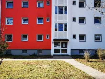Sanierte 3-Zimmer Wohnung mit Balkon und tollem Blick ins Grüne