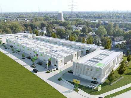 Erstbezug - kleine Produktions- und Lagerhallen mit Büro von 81 qm bis 1.100 qm
