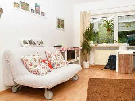 HD-Pfaffengrund: 90qm-Erdgeschoss-helle 3 Zimmer-200qm Garten-kl. Terrasse–Garage–zzgl. Hobbyraum!