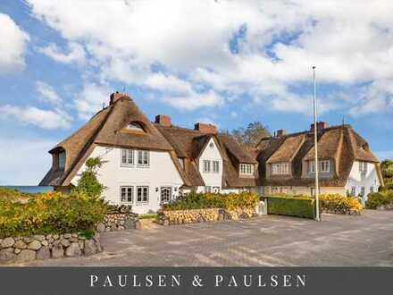 Juwel am Wattenmeer – Reetgedeckte Wohnung mit direktem Wattblick und Zugang zum Watt