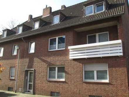 Kernsanierte, möblierte 1-Zimmer-DG-Wohnung in Bocholt zu vermieten