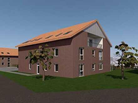 Attraktiv aufgeteilte Eigentumswohnung mit Terrasse & eigenem Garten / KfW-55