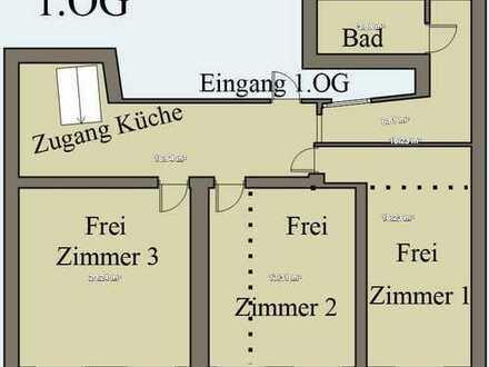 20m² Zimmer in 4er WG, Studenten - Campus Steinstraße