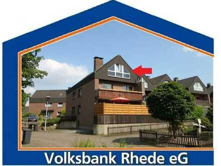 ++RESERVIERT++ Dachgeschosswohnung in bevorzugter Lage von Rhede