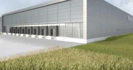 """BAUMÜLLER & CO."" - ca. 10.000 m² NEUBAU Logistikfläche - Nähe A5 - Rampenandienung"
