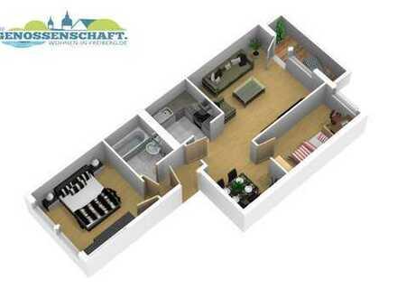 3-Zimmerwohnung Freiberg