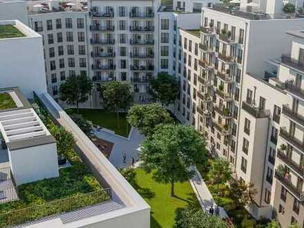 Mehr Freiraum geht nicht: 4-Zimmer, Dachterrasse, großer Südbalkon