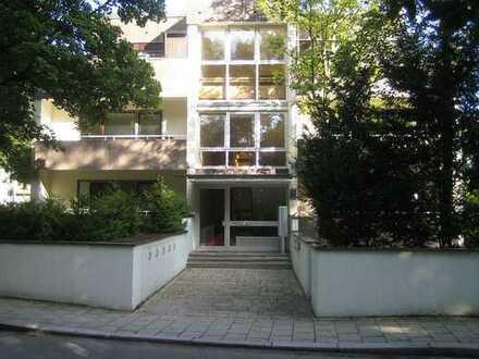 RIVA sehr große, ruhige 3-Zi Wohnung, direkt am Isar-Hochufer, München-Harlaching