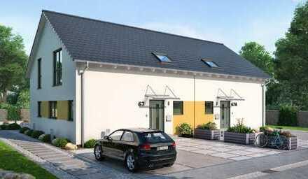 Doppelhaushälfte in schöner Lage - gute Anbindung nach Karlsruhe