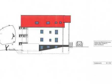 Sandhausen, schnell sein: 2 ZKB Hochparterre * 65 m² * KfW 55 Neubau * 6 FH. * Barrierefrei * Aufzug