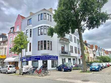 Flüsseviertel! Sehr schöne 3 Zimmerwohnung in zentraler Lage im Herzen der Neustadt!