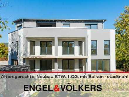Altersgerechte, Neubau ETW, 1.OG, mit Balkon - stadtnah!