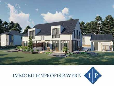 Neubau: Ihre Doppelhaushälfte auf herrlichem Grundstück in Südausrichtung! MUC Pendler aufgepasst..