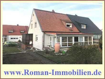 Kleine Doppelhaushälfte zum Preis einer Eigentumswohnung in Nürnberg-Gebersdorf!