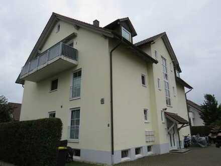 Dachgeschosswohnung in Neuburg-Sehensand. Von hier oben haben Sie den perfekten Überblick.