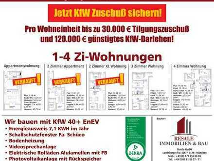 2 Zimmer XL Wohnung Erstbezug Neubau ab 01.04.2020