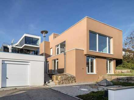 Wunderschönes Architekten-Haus in Göppingen (Kreis), Rechberghausen mit atemberaubender Aussicht