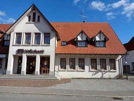 Räume in der ehemaligen Bankfiliale in Römerstein-Donnstetten zu vermieten
