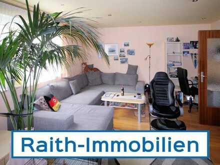 Zur Kapitalanlage: Erdgeschosswohnung mit kleinem Gartenanteil in Nördlingen