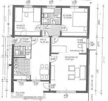 Schöne 3 Zimmer-Wohnung in Bremen, Gartenstadt Vahr mit Garage