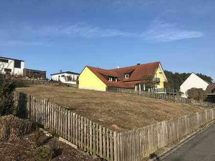 Einzigartiges Baugrundstück in Südhanglage