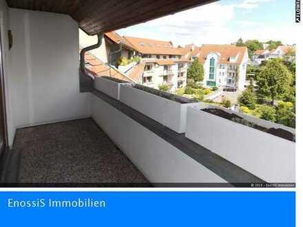 Bruchsal-Silberhölle: Flotte, top moderne 3,5-Zimmerwohnung+Balkon+TG-Stpl.+EBK