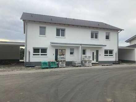 Neue Doppelhaushälfte mit Garten und Alpenblick in Konstanz (Kreis), Gailingen am Hochrhein