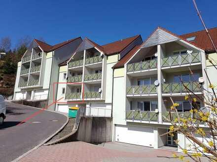 SELTEN ! die PERFEKTE 3-Zi-Wohnung im Hochparterre m.SÜDbalkon+GARAGE- im Grünen & ruhig Nähe Suhl