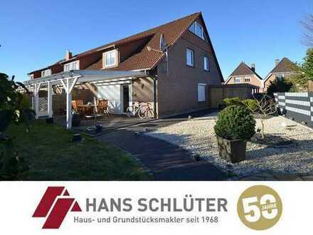 Charmantes Reihendhaus mit Carport und großem Garten in Habenhausen!