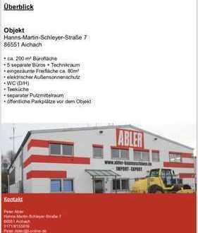 Büro und Geschäftsräume ca 200 qm + 80 qm Aussenbereich