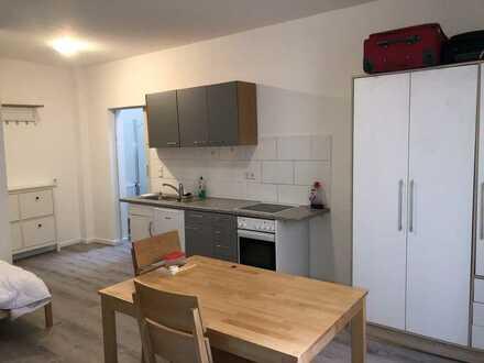 Geschmackvolle Hochparterre-Wohnung mit einem Raum und EBK in Metzingen