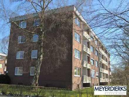 Bürgerfelde - Rostocker Straße: innenstadtnahe 2-Zimmer-Wohnung mit Balkon