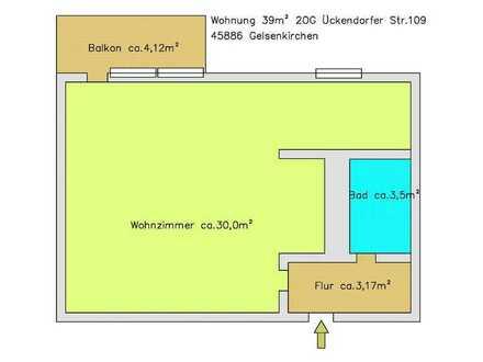 Helle Apartment mit Balkon und Tiefgarage