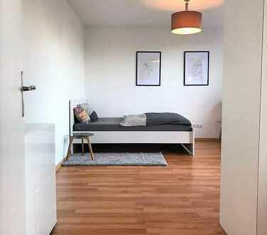 Ruhiges möbliertes Appartement mit Balkon