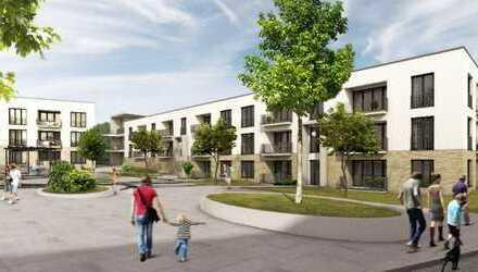 ansprechende und barrierearme 2 Zimmer-Wohnung im Neubau Energie-Plus-Quartier in Schüren