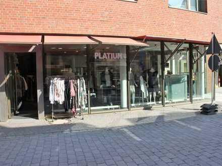 Ladenlokal in der Coesfelder Fußgängerzone