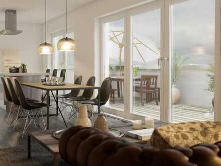 Stillvoll wohnen im geschichtsträchtigen Weimar! 2-Zimmer-Penthouse mit herrlicher Dachterrasse
