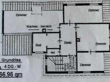 3 Zimmer Wohnung im Zentrum von Göppingen