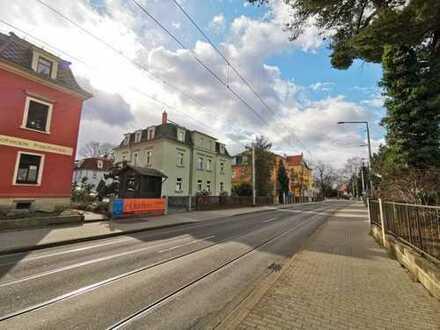 Großzügige 1-Zimmer-Wohnung mit Einbauküche und Stellplatz in Dresden-Laubegast!